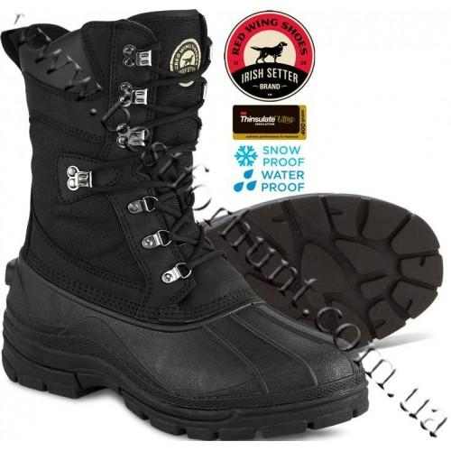 Irish Setter Snowhound Boots 2861 Black