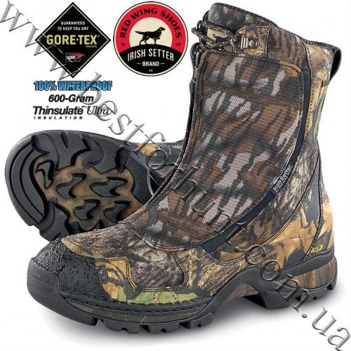 Irish Setter® Tamarack 600 gram Thinsulate™ Ultra Insulation GTX® Waterproof Hunting Boots Mossy Oak® Break-Up® 2835