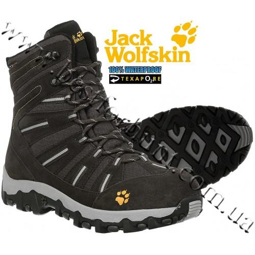 Jack Wolfskin® Snow Trekker Texapore Waterproof Boots Shadow Black