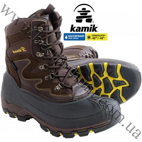 Kamik® Blackjack™ Waterproof Insulated Snow Boots Dark Brown