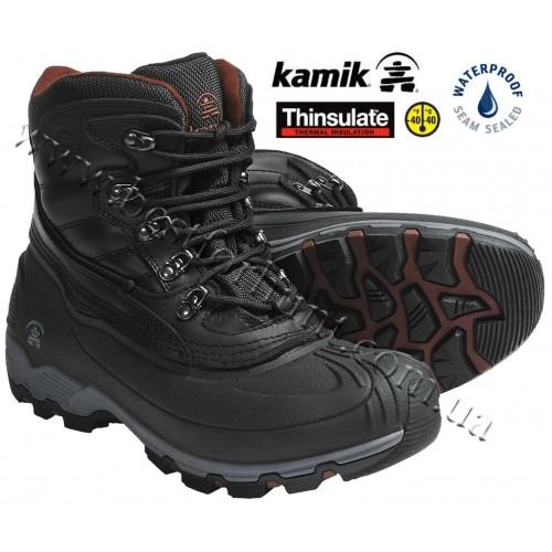 Kamik Icepark Winter Boots Black