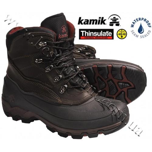 Kamik Icepark Winter Boots Brown