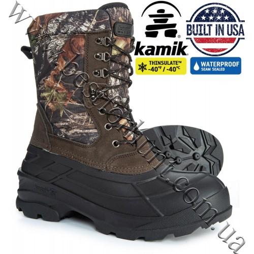Kamik® NationCamo Waterproof Insulated Snow Boots Mossy Oak® Break-Up®