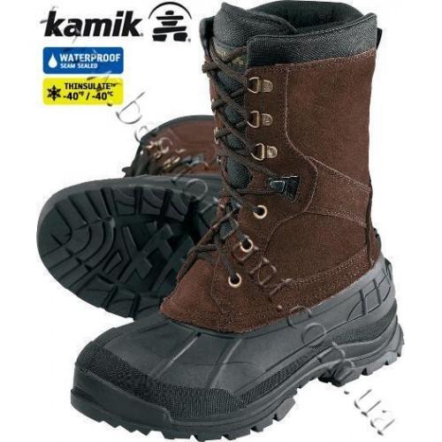 Kamik Nationplus Winter Boots Brown
