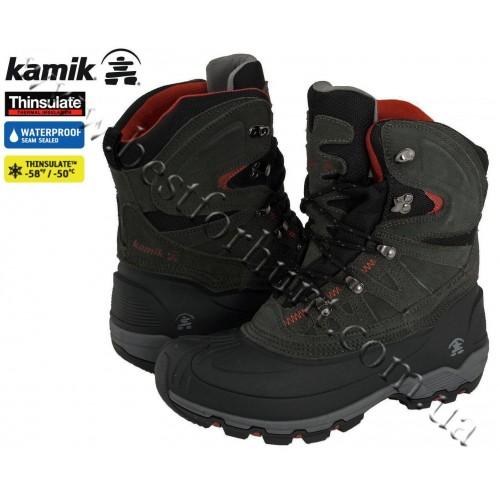 Kamik Nordicpass Winter Boots Charcoal
