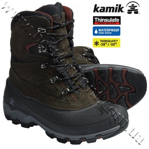 Kamik Nordicpass Winter Boots Olive