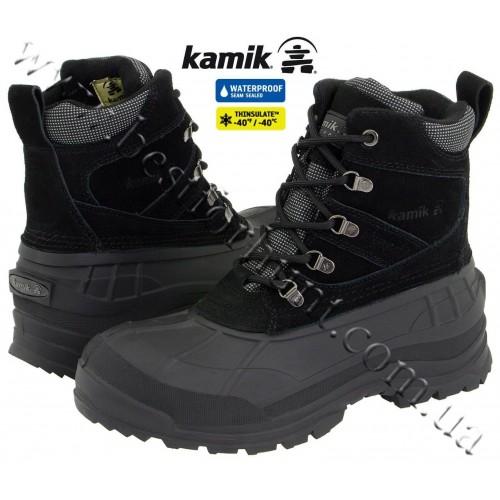 Kamik Wausau Winter Boots Black