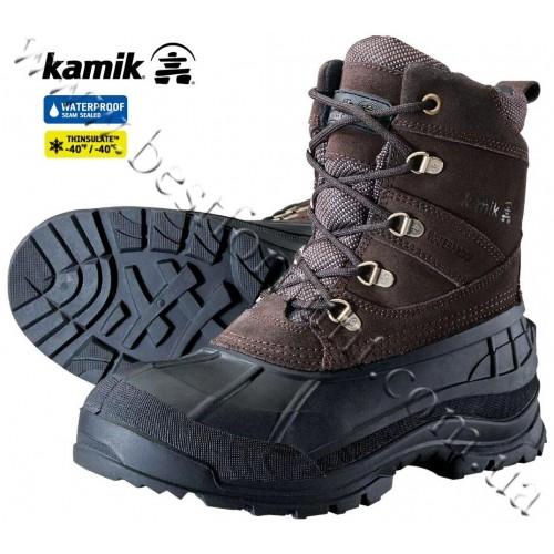 Kamik Wausau Winter Boots Brown