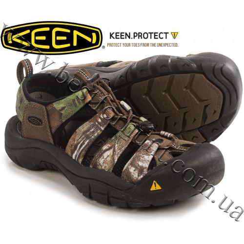 Keen® Newport H2™ Sport Sandals Realtree Xtra® Green