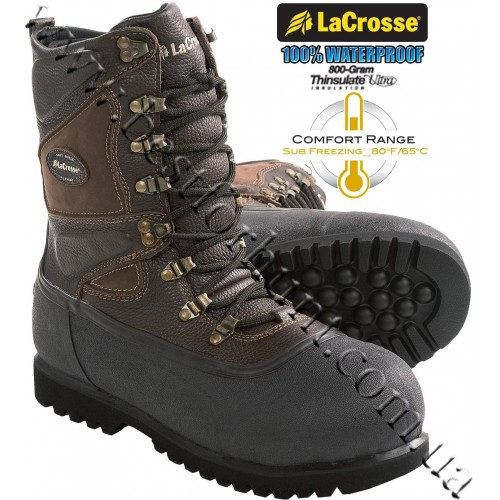 """LaCrosse® 11"""" Alpha Ice King™ Waterproof Insulated Pac Boots"""