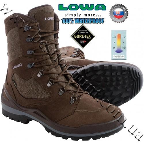 Lowa® Flims™ GTX® Waterproof Snow Boots Brown