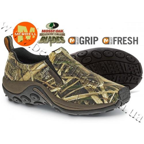 Merrell® Jungle Moc Camo Shoes Mossy Oak® Shadow Grass® Blades™