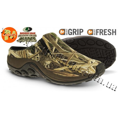 Merrell® Jungle Slide Camo Shoes Mossy Oak® Shadow Grass® Blades™