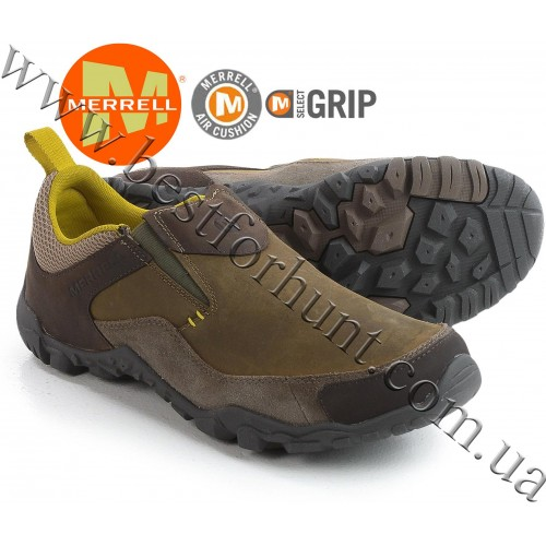 Merrell® Telluride Moc Slip-On Shoes Brindle