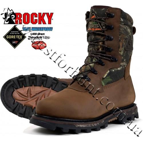 """Rocky® 10"""" Arctic BearClaw 3D™ 1,400 grams Boots Mossy Oak® Break-Up®"""
