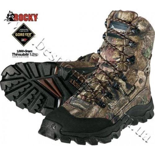 Rocky® 1,000-gram Insulated Hunting Boots Mossy Oak® Break-Up® Infinity™