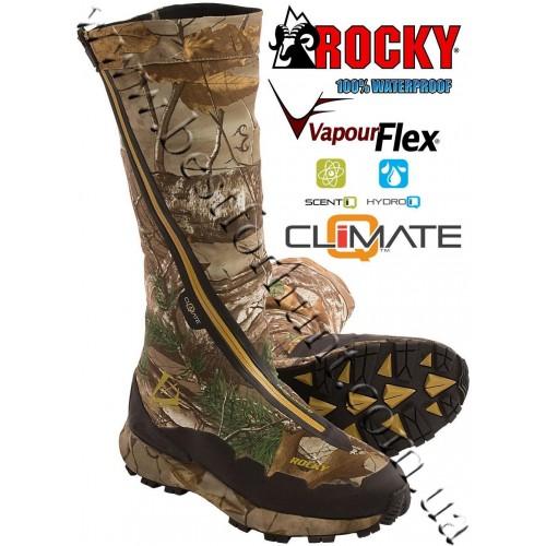 "Rocky® 16"" BroadHead™ Hidden Laces Waterproof Hunting Boots RO 010 Realtree Xtra®"
