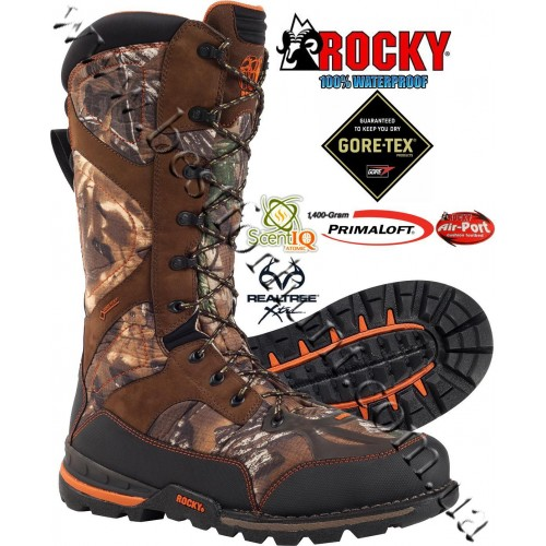 Rocky® Athletic Mobility Maxprotect Level 3 Gore-Tex® 1,400 gram Insulated Hunting Boots RO031 Realtree Xtra®