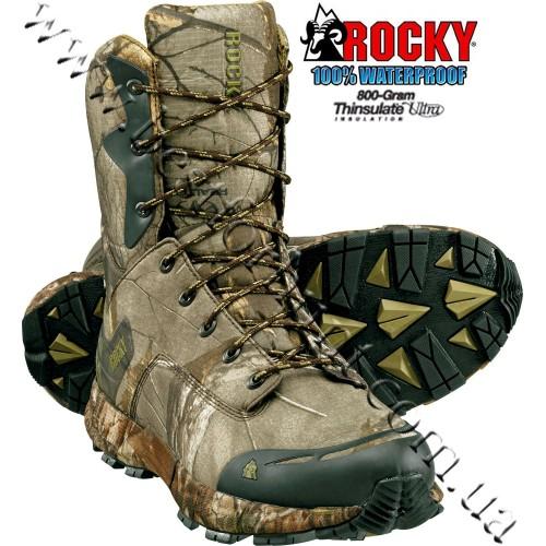 Rocky® Broadhead 800-Gram Insulated Waterproof Hunting Boots RKS0184 Realtree Xtra®