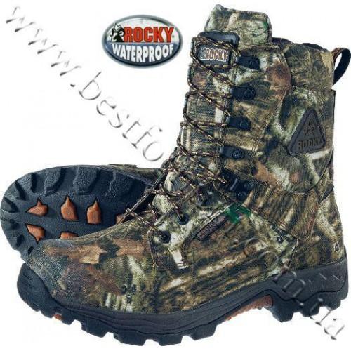 """Rocky® Bucklite 8"""" Hunting Boots Mossy Oak® Break-Up® Infinity™"""