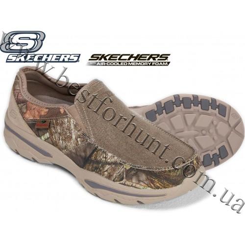 Skechers® Creston-Moseco Slip on Canvas Loafer Mossy Oak® Break-Up® COUNTRY™