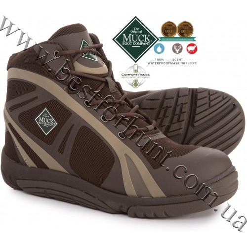 The Original Muck Boot Company® Pursuit Shadow™ Ankle Lightweight Hunting Boots Brown