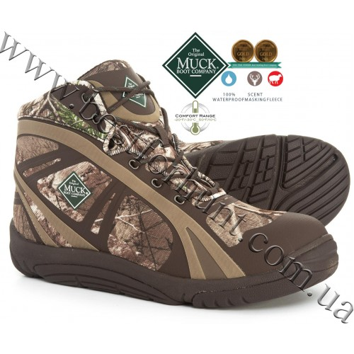 The Original Muck Boot Company® Pursuit Shadow™ Ankle Lightweight Hunting Boots Realtree Xtra®