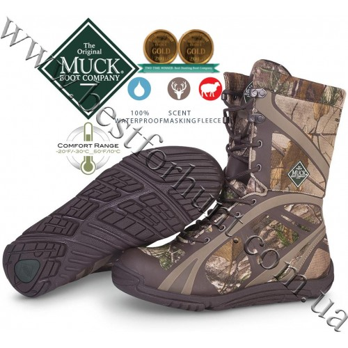 The Original Muck Boot Company® Pursuit Shadow™ Mid Lightweight Hunting Boots Realtree Xtra®