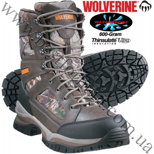 Wolverine® Outline Hi 600-Gram Insulated Waterproof Hunting Boots Realtree Xtra®