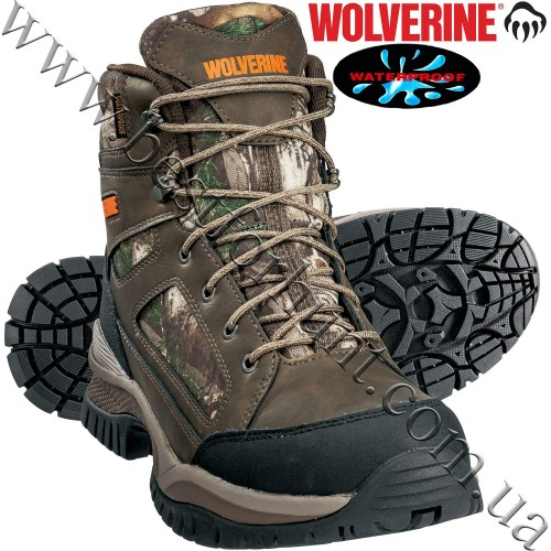 Wolverine® Outline Mid Waterproof Hunting Boots Realtree Xtra®
