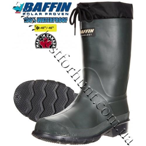 Baffin Hunter Rubber Boots Forest-Black