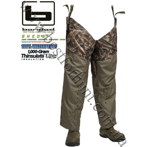 Banded® Redzone™ Breathable 1,000-gram Insulated Hip Boots Realtree MAX-5®