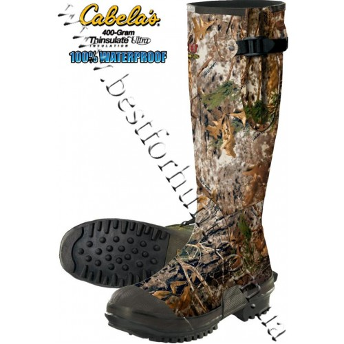 Cabela's Scent-Free 400-gram Thinsulate™ Rubber Boots Cabela's Zonz™ Woodlands