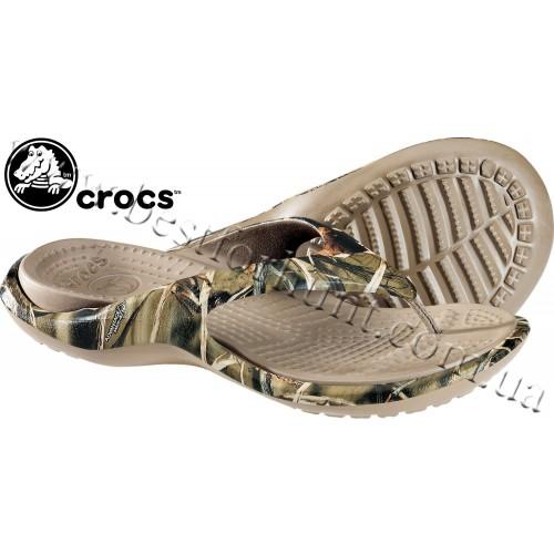Crocs™ Baja Flip Flops Realtree Max-4™