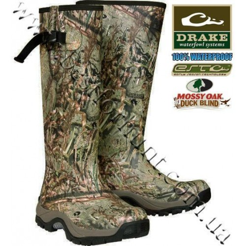 Drake Waterfowl EST Knee High Mudder™ Boots Mossy Oak® Duck Blind®