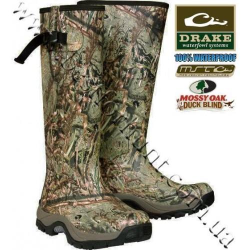 Drake Waterfowl MST Knee High Mudder™ Boots Mossy Oak® Duck Blind®