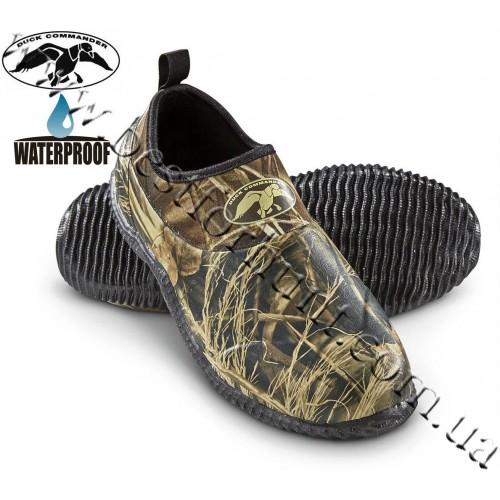Duck Commander® Mon-Roe Waterproof Slip-on Rubber Shoes Realtree MAX-4®