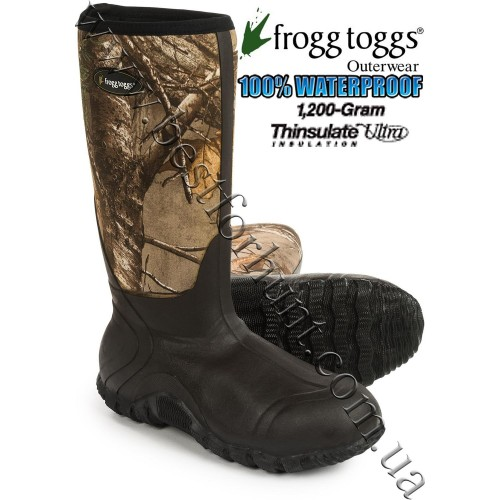 Frogg Toggs® Amphib Mudd Hogg 1,200 grams Insulated Waterproof Hunting Boots Realtree Xtra®