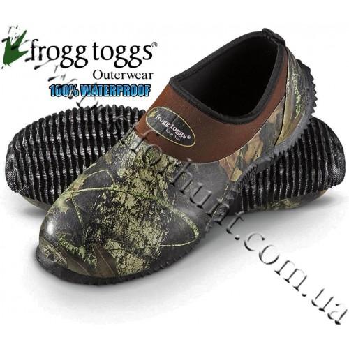 Frogg Toggs® Amphib™ Mudd Mocc Rubber and Neoprene Camp Shoe Mossy Oak® Break-Up®