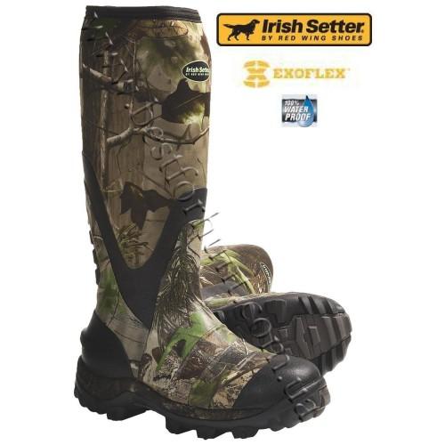 Irish Setter SwampGhost Neoprene Rubber Boots 4852 Realtree APG®