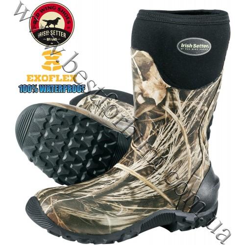 Irish Setter® Taskmaster™ Rubber Hunting Boots 1894 Realtree MAX-4®