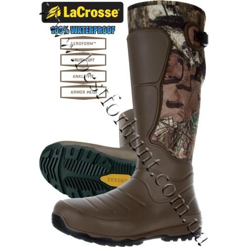 """LaCrosse® 18"""" AeroHead™ 3.5mm neoprene Rubber Boots 716030 Mossy Oak® Break-Up® Infinity™"""