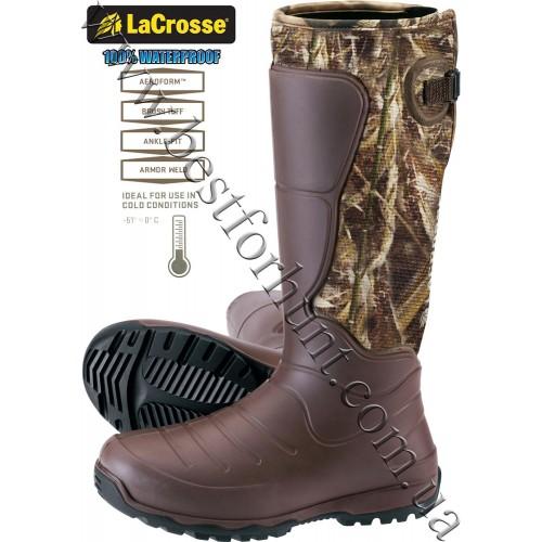 "LaCrosse® 18"" AeroHead™ 7mm neoprene Rubber Boots 716037 Realtree MAX-5®"