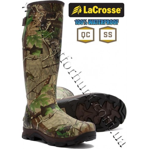 LaCrosse® 4X Burly™ Rubber Hunting Boot Realtree APG®