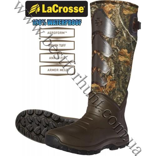 "LaCrosse® AeroHead™ Sport 16"" 3.5mm Neoprene Rubber Hunting Boots 340228 Realtree Edge™"