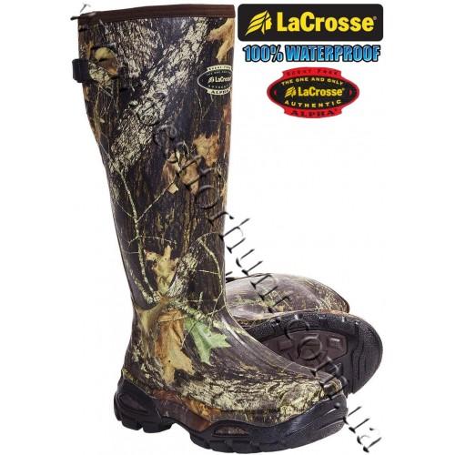 LaCrosse® AlphaBurly™ Sport Uninsulated Rubber Hunting Boots Mossy Oak® Break-Up®