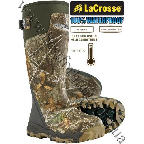 "LaCrosse® Alphaburly Pro™ 18"" Uninsulated Hunting Boots 376024 Realtree Edge™"