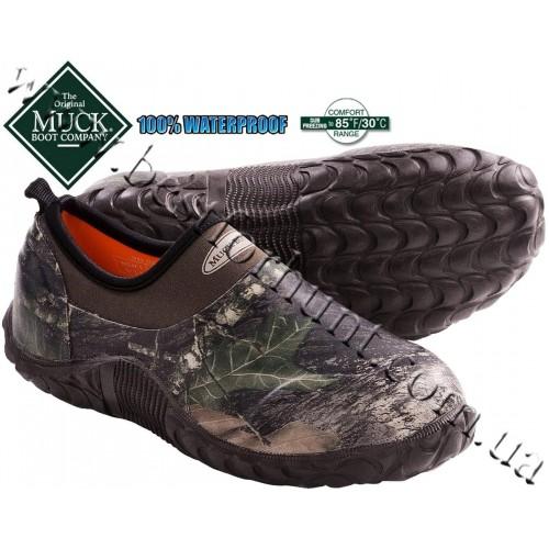 Muck Boot Company® Waterproof Edgewater Camp Shoe Mossy Oak® Break-Up®