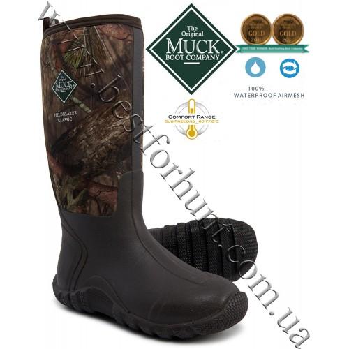 The Original Muck Boot Company® Fieldblazer™ Classic Tall Multi-Purpose Hunting Boots Mossy Oak® Break-Up® COUNTRY™