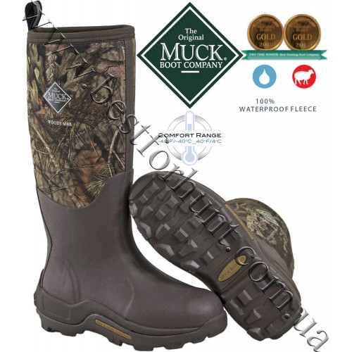 The Original Muck Boot Company® Woody Max™ Cold Condition Hunting Boots Mossy Oak® Break-Up® COUNTRY™